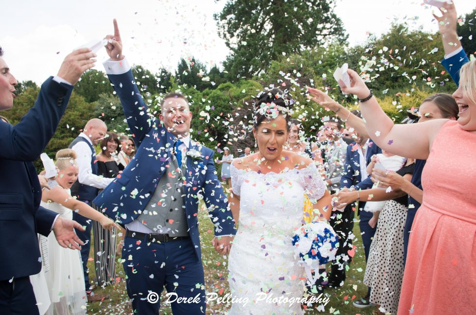 The wedding of Carena & Lee, held at Pendley Manor