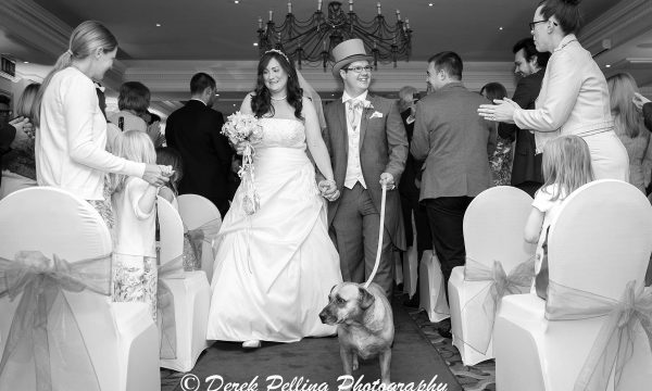 The wedding of Lindsay and Kenny at The Compleat Angler in Marlow