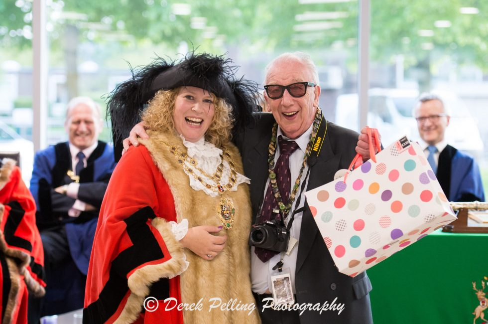 Aylesbury Town Council Mayor Making ceremony , held at Aylesbury College
