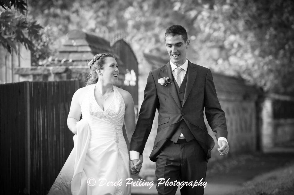 The wedding of Sophie & Chris at Ealing Abbey