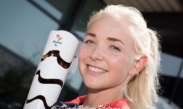 Pam Relph - Paralympian - shot for AVDC